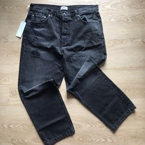 Boyish High Rise Straight Jeans for Women size 32 New with tag